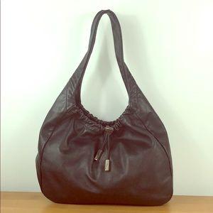 Salvatore Ferragamo 🖤Black Leather Drawstring Bag